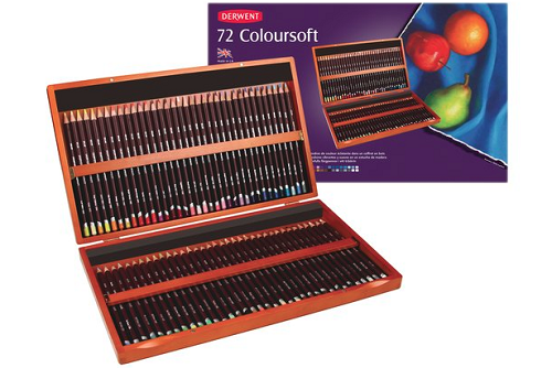 Derwent Colorsoft Colored Pencils