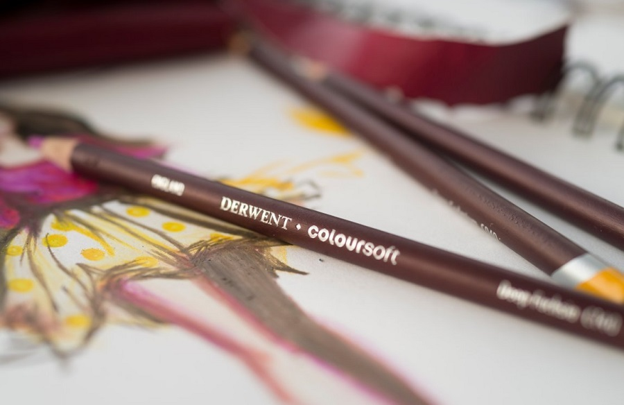 Derwent Colorsoft Colored Pencils Review