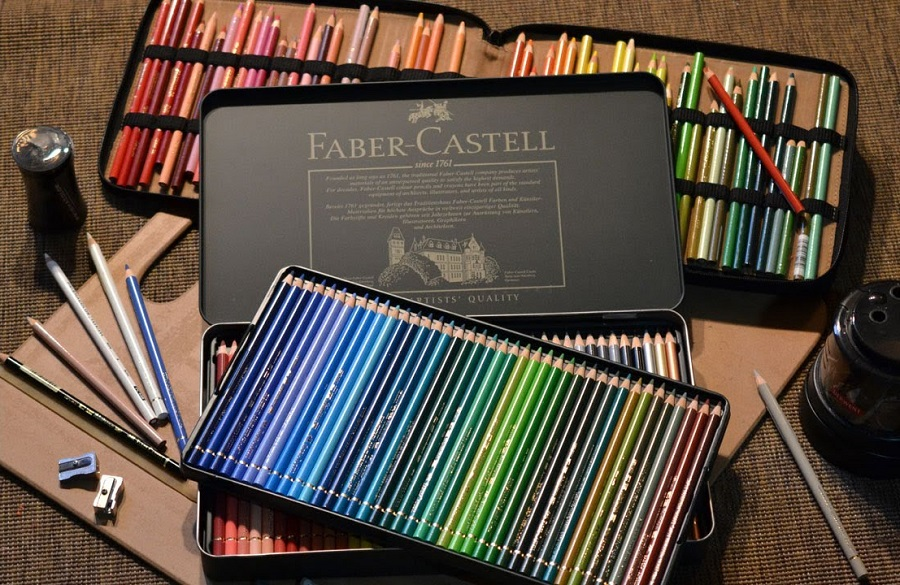 Faber Castell Polychromos Colored Pencils Review